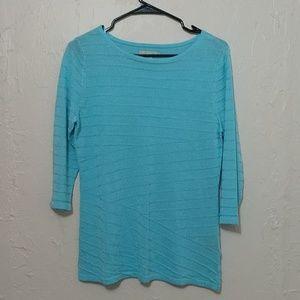 Dana Buchman 3/4 Sleeve Sweater sz s